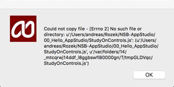 AppStudio-ErrorMessage